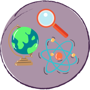 science and exploration icon