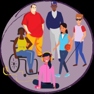 diversity and advocacy icon