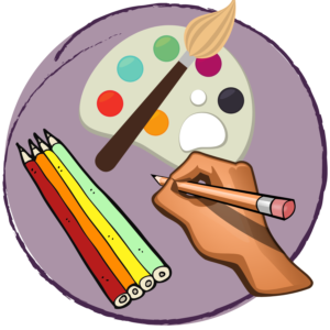 visual art icon