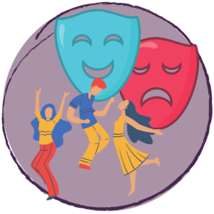 dance and drama icon