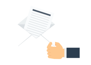 example cover letter icon