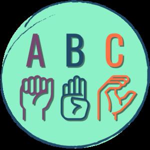 Signed English Alphabet Icon